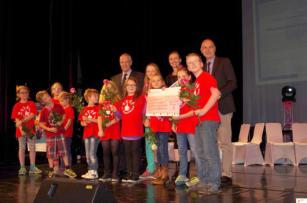 Morgenmuffel Radio Preisverleihung Grundschule Heiligenhaus