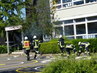 Probealarm Feuerwehr Grundschule Heiligenhaus