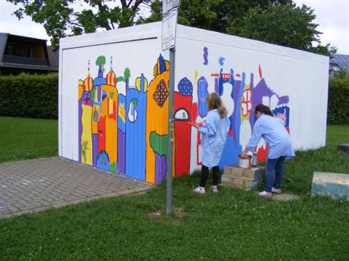 Projekt Hunterwasser Grundschule Heiligenhaus