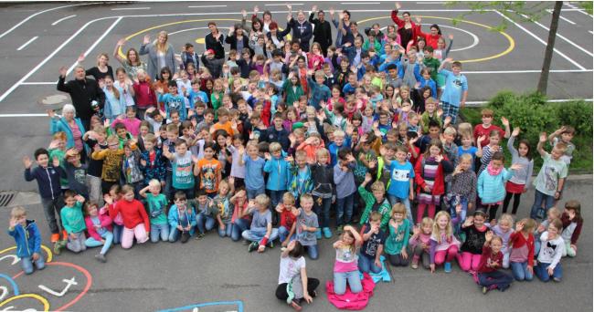 Schueler Schuelerinnen Grundschule Heiligenhaus