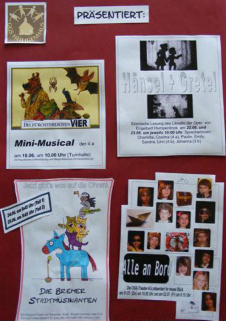 Theater Projekt Minimusical