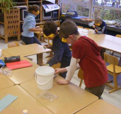 Tuwas Projekt Schutzbrille Grundschule Heiligenhaus