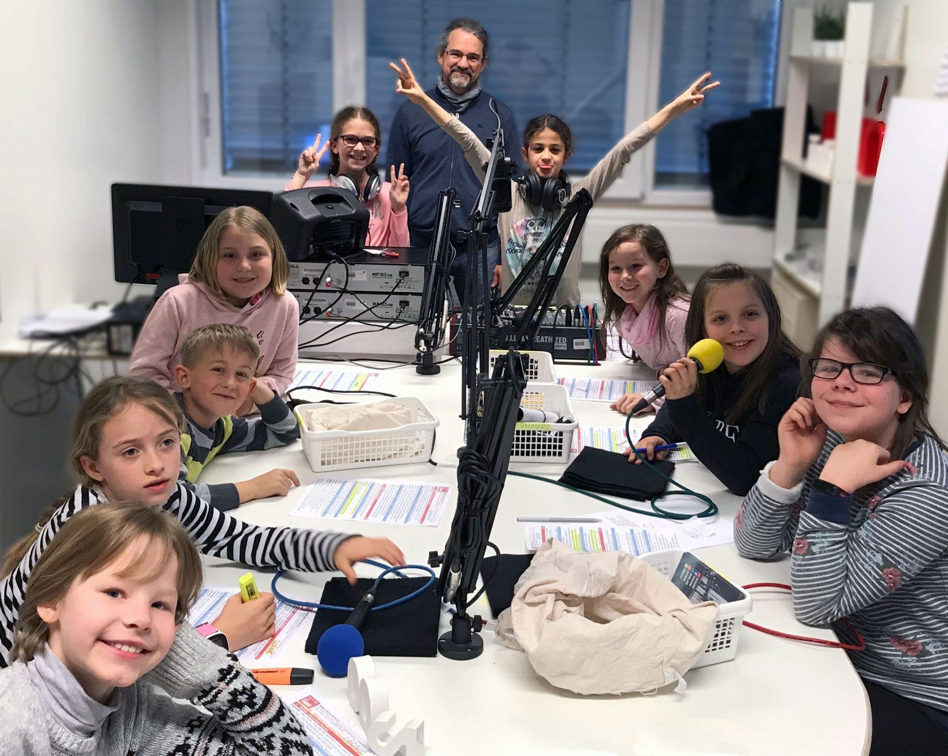 Radioteam mit Rainer